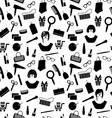 girls stuff pattern1 resize vector image vector image