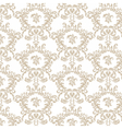 Golden Vintage Royal Classic pattern vector image