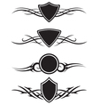 Tattoo graphic ornaments vector image