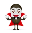 Vampire or Dracula on white background vector image vector image