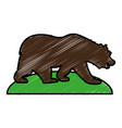 bear icon image vector image vector image