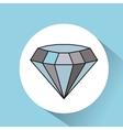 diamond rich image icon vector image