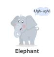Elephant illistration vector image