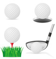 golf 05 vector image