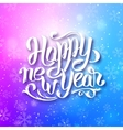 happy new year 2016 greeting card vector image