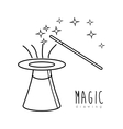 Magic graphic design vector image vector image