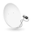 satellite dish 02 vector image vector image