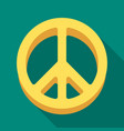 the icon of the worldhippy single icon in flat vector image