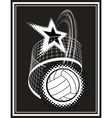 volleyball sport vector image