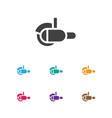 of tools symbol on grinder vector image