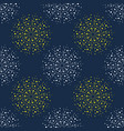 abstract firework pattern vector image