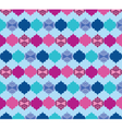 Abstract pattern with ornaments vector image vector image