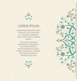 lace decor for birthday and greeting card wedding vector image vector image