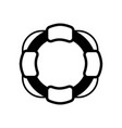 lifeguard icon icon simple element lifeguard vector image