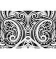 maori ethnic ornament vector image vector image