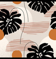 nature seamless pattern summer vector image