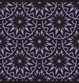 seamless purple floral mandala pattern vector image vector image