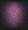 violet dark lace background vector image vector image