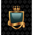 vintage with heraldic elements - vector image