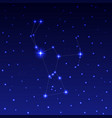 the constellation of orion vector image