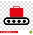 Baggage Conveyor Eps Icon vector image