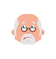doctor bewildered emotion avatar physician at a vector image vector image