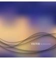 Elegant waves background vector image