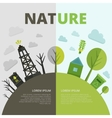 Planet Ecology Composition vector image
