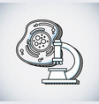 science education line icon vector image