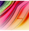 blurred mixing liquid flowing colors abstract vector image