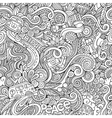 Cartoon hand-drawn Doodles on the subject of vector image vector image