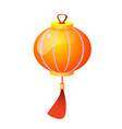 chinese and chinatown festival papers lanterns vector image