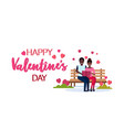couple in love reading book together happy vector image vector image
