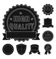 design emblem and badge icon set of vector image