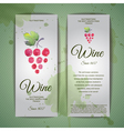 Grapes or Wine concept design Corporate identity vector image