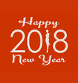 new year celebration card vector image
