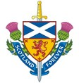 Symbol of Scotland vector image
