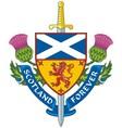 symbol scotland vector image vector image