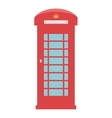 United Kingdom Telephone Box London public call vector image vector image