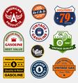 vintage gasoline signs