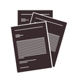 document paper pages vector image
