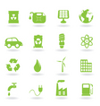 Ecofriendly icons vector | Price: 1 Credit (USD $1)