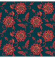 Elegant Flower Pattern vector image vector image