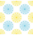 gothic window pattern vector image