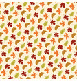 leaf pattern on tan vector image vector image