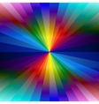 Rainbow colorful kaleidoscope background vector image vector image