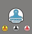 Set logo hand spinner toys
