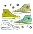 shoe s vector image vector image
