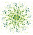 spring vintage pattern vector image vector image