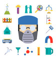 lab chemical test medical laboratory vector image